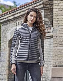 Ladies Hooded Aspen Crossover Jacket